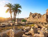 Ruins of Karnak Temple