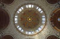 Blick in die Kuppel,  Berliner Dom, Berlin, Deutschland