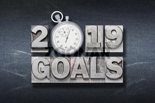 2019 goals watch den