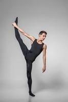 handsome ballet artist