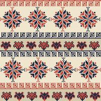 Palestinian embroidery pattern 43