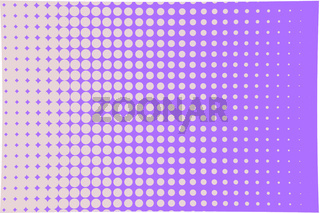 Abstract halftone pattern. Futuristic panel.  Pink, violet color