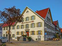 Gasthof und Brauerei  zur Post, Weiler i. Allgäu, Weiler-Simmerberg, Bayern