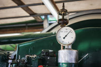 Tachometer with oil pot
