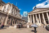 London, United Kingdom - May 12, 2019: The Royal Stock Exchange, London, England, UK.