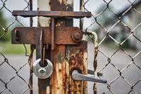 verschlossenes Tor
