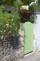 French garden door