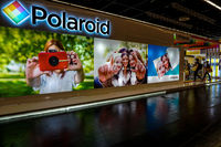 Polaroid stand in the Photokina Exhibition