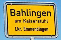 Bahlingen am Kaiserstuhl im Landkreis Emmendingen