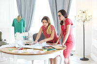 Fashion designers are working on a new concept in fashion  studio