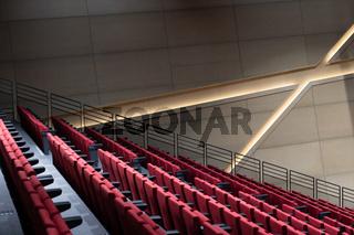 Moderne Innenarchitektuer von Daniel Libeskind, Universität Lüneburg