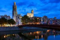 Girona City By Night
