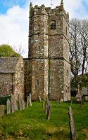 St Teath Kirche - VI -  Cornwall