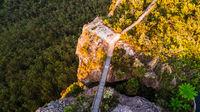 Bridge to lookout Blue Mountains Australia