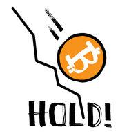 Hold! - Falling Bitcoi