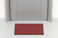 Red blank doormat