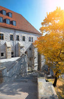 Preacher monastery, a Dominican priory in the city of Erfurt, Thuringia, Germany