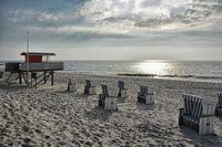 Strand Rantum Insel Sylt