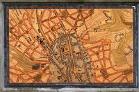 Historischer Stadtplan Pirmasens