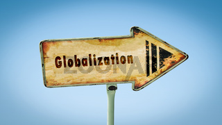 Street Sign to Globalization