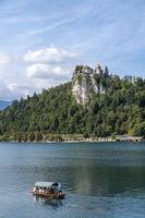 Bleder See mit Burg von Bled
