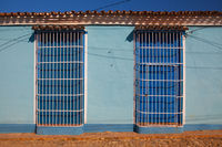 Typical colonial building in Trinidad, Cuba
