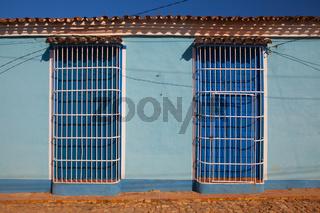 Typical colonial building in Trinidad, Cuba