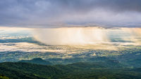 Phu Thap Berk when it rains