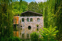 House on the pond
