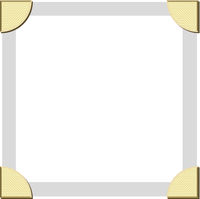 Photo Corner Edges Vector