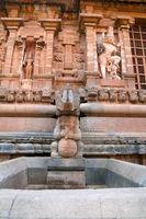Niches and sculptures, Northern wall, Brihadisvara Temple, Tanjore, Tamil Nadu