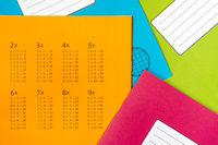 Exercise book for math