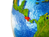 Costa Rica on 3D Earth