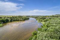 Niobrara River near Valentine in Nebraska Sandhills