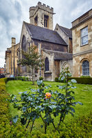 The St Peter's college chapel. Oxford University. England