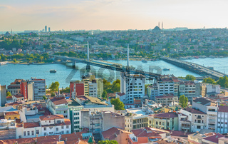 Panoramic view of Istanbul