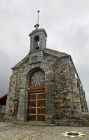 Kirche auf der Insel San Juan de Gaztelugatxe, Bakio, Costa Vasca, Golf von Biskaya, Spanien