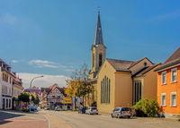 Evangelische Melanchthon-Kirche,  Stockach, Baden-Württemberg