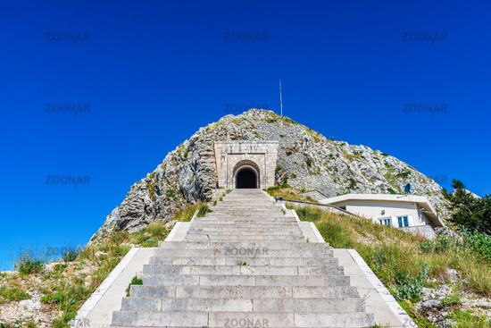 Staircase to Njegosh mausoleum