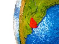 Uruguay on 3D Earth