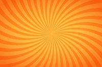 Bright orange and yellow stripes, twisted background