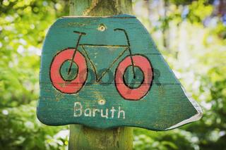 Wegweiser nach Baruth | Signpost to Baruth