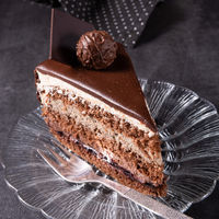 Chocolate cake - Airy biscuit and a cream of cream and chocolate
