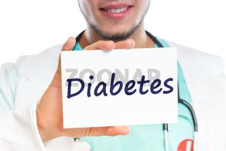 Diabetes sugar disease doctor ill illness healthy health