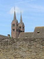 Höxter - Westwerk der Abteikirche Corvey, Deutschland
