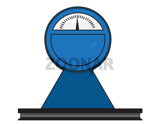 Large measuring scales