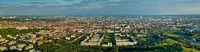 Aerial panorama of Munich. Munich, Bavaria, Germany