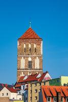 Blick auf die Östliche Altstadt von Rostock