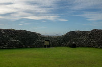 View from the staigue fort in ireland