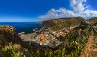 Town Ribeira Brava - Madeira Portugal